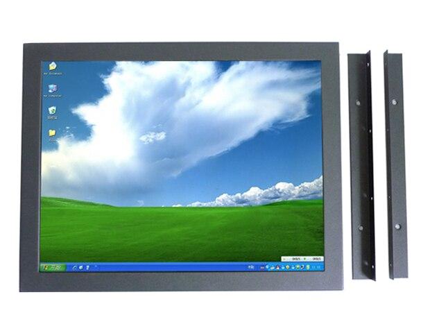 4:3 открытой рамки монитор от порта usb сенсорный жк-экран компьютерный монитор 15 дюймов с VGA микро-hdmi вход