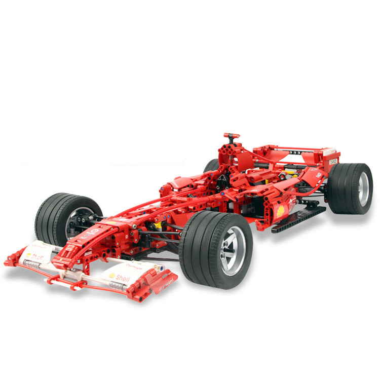 Technic F1 Racer building bricks blocks Toys for children Game Car Formula 1 Compatible with legoing 8674 крышка roca dama senso лакированная для биде стальные крепления 806510004