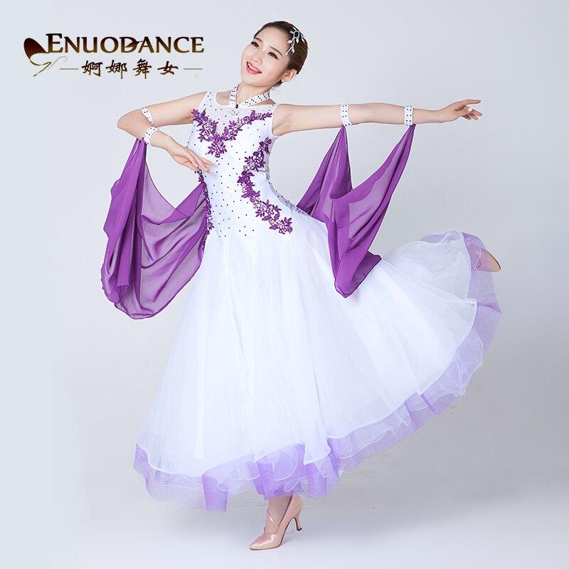 New Ballroom Waltz Modern Dance Dress Ballroom Dance Performance Dresses Standard Ballroom Dancing Clothes Tango Dress