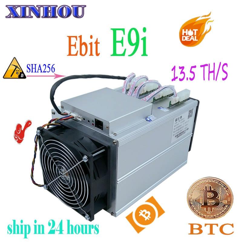 Utilizzato ASIC minatore Ebit E9i 13.5T SHA256 Bitcoin BTC BCH Minatore Economico Di E10.1 antminer S9 S9i S11 T15 s15 B7 Z11 M3 M10 T2T T3