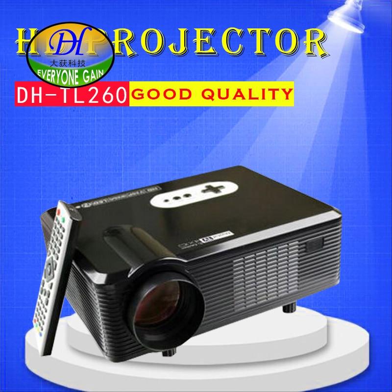 Todos Ganan TL260 Rojo Azul 3D Juego Proyector LCD Full HD Apoyo Construir-en Al
