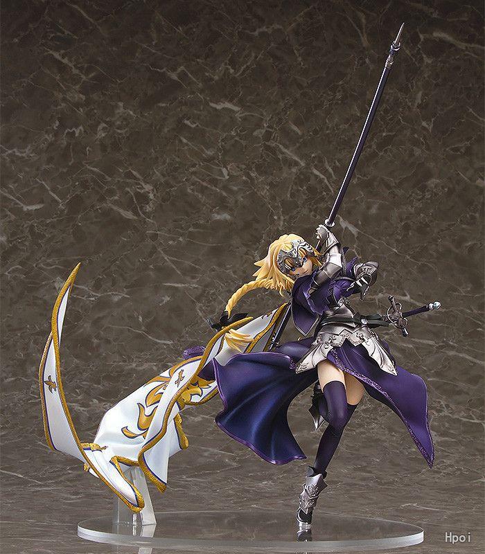 19 cm destin/Apocrypha sabre figurine action destin rester nuit anime modèle figurines collection jouets cadeau