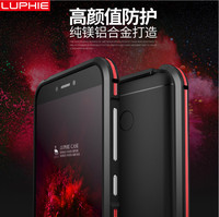 For Xiaomi Redmi 4x Cases Luphie Dual Color Aluminum Frame For Xiaomi Redmi4x Phone Case Covers