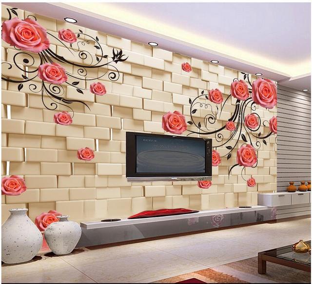 Acheter personnalis 3d photo papier peint 3d peintures mural - Insonoriser sa chambre ...
