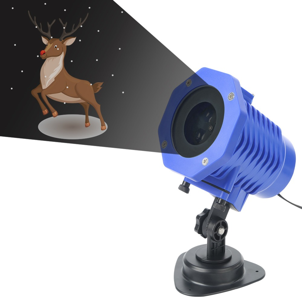 Outdoor Led Projector Light Indoor Christmas deer Projection lamp Party Christmas Landscape Birthday Garden Waterproof Lighting musiq musiq soulstar