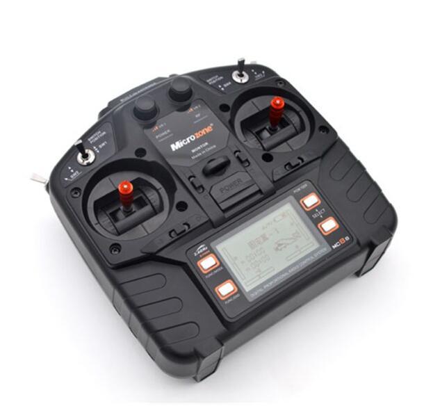 Oyuncaklar ve Hobi Ürünleri'ten Parçalar ve Aksesuarlar'de Microzone MC8B 2.4G 8CH Uzaktan Kumanda Verici ve MC8RE 8CH Alıcı radyo sistemi RC uçak sabit kanatlı helikopter drone'da  Grup 2