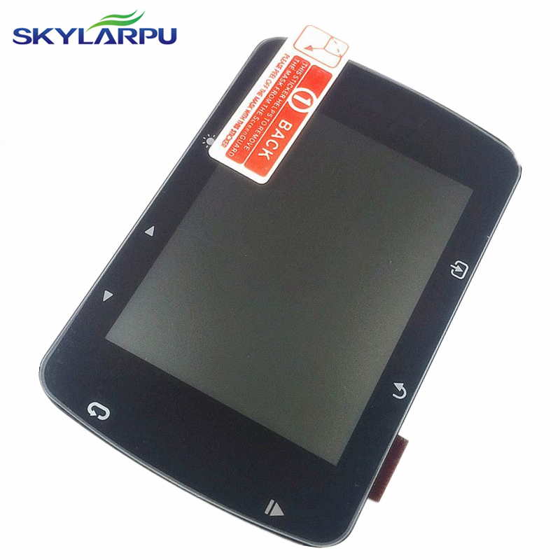 skylarpu LCD screen for GARMIN EDGE 520 bicycle speed meter complete LCD display Screen panel Repair replacement Free shipping skylarpu 2 4 inch lcd screen for garmin edge 820 bicycle speed meter display screen panel repair replacement without touch