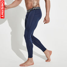 Leggings Gym-Pants Tights Workout-Compression Fitness Running Hardlopen Black Long Men