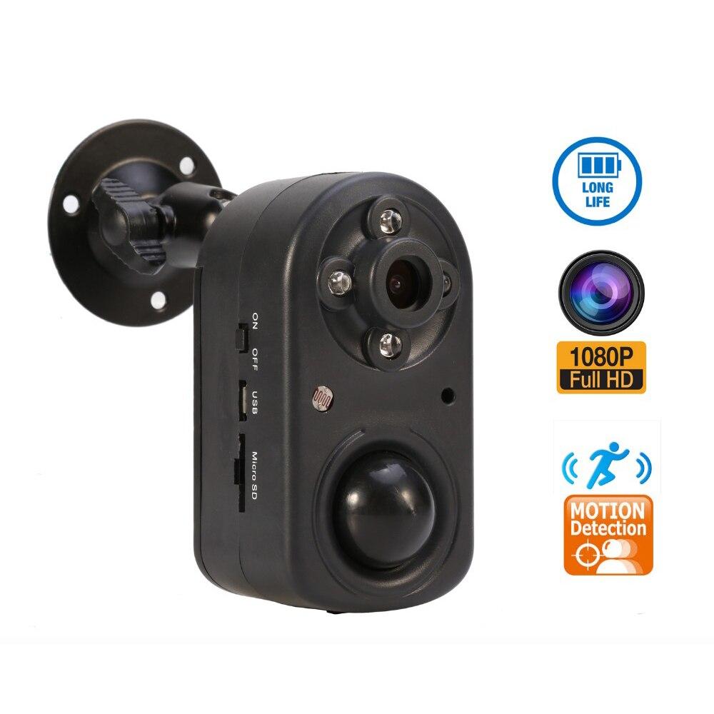 30fps 1080 P PIR caméra Corps Humain Détection de Mouvement Caméra prendre vidéo ou photo cctv IR LED night vision batterie veille 3 mois