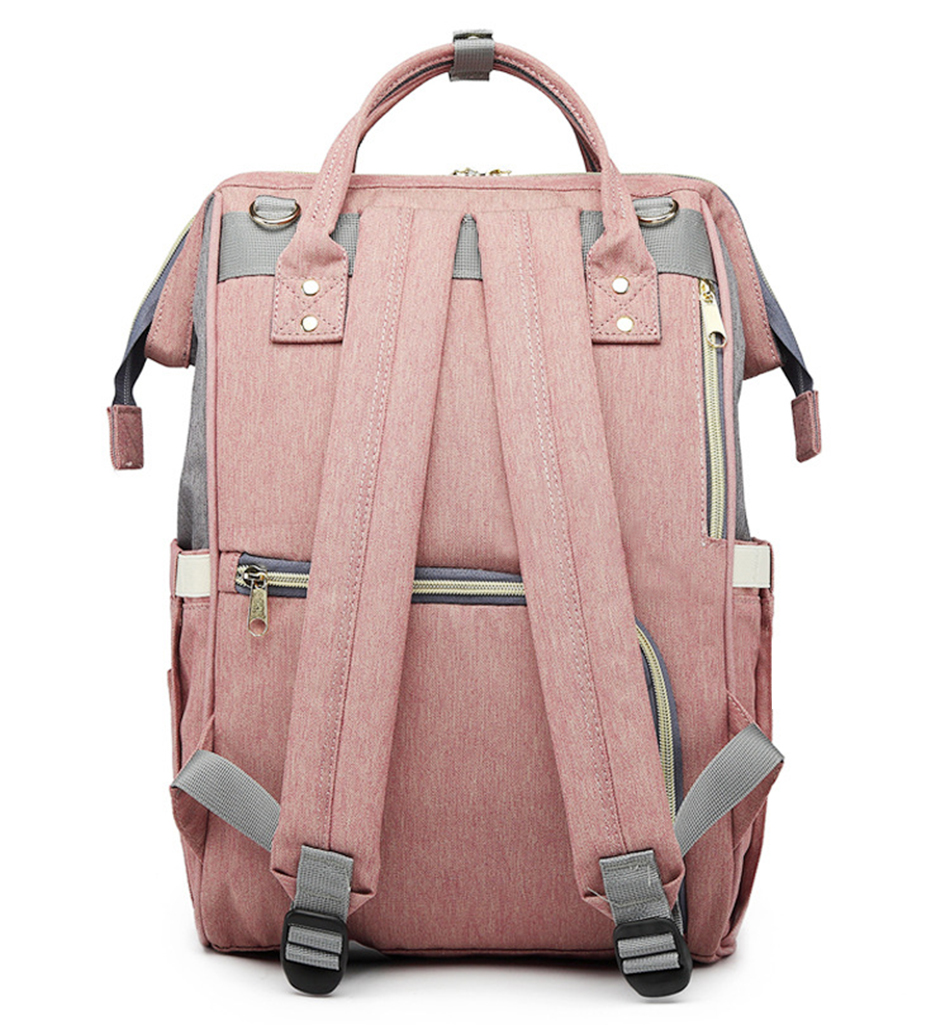 HTB1tgqHSSzqK1RjSZFpq6ykSXXaE Nappy Backpack Bag Mummy Large Capacity Bag Baby Multi-function Waterproof Travel Diaper Bags For Baby Care Droshipping