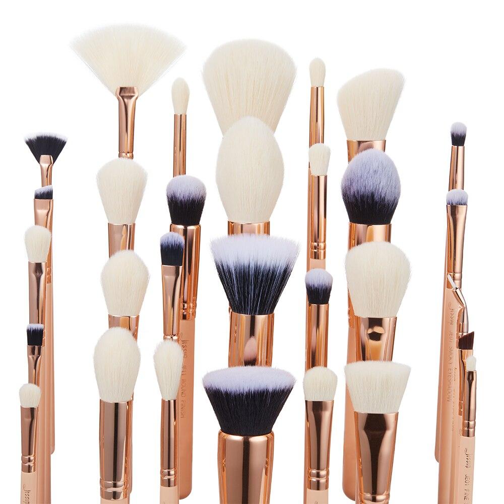 Jessup brosses 30 pièces pinceaux De Maquillage outils De Beauté kits Cosmétiques maquillage brosse POUDRE FONDATION FARD À PAUPIÈRES BLUSH-in Recourbe-cils from Beauté & Santé    2