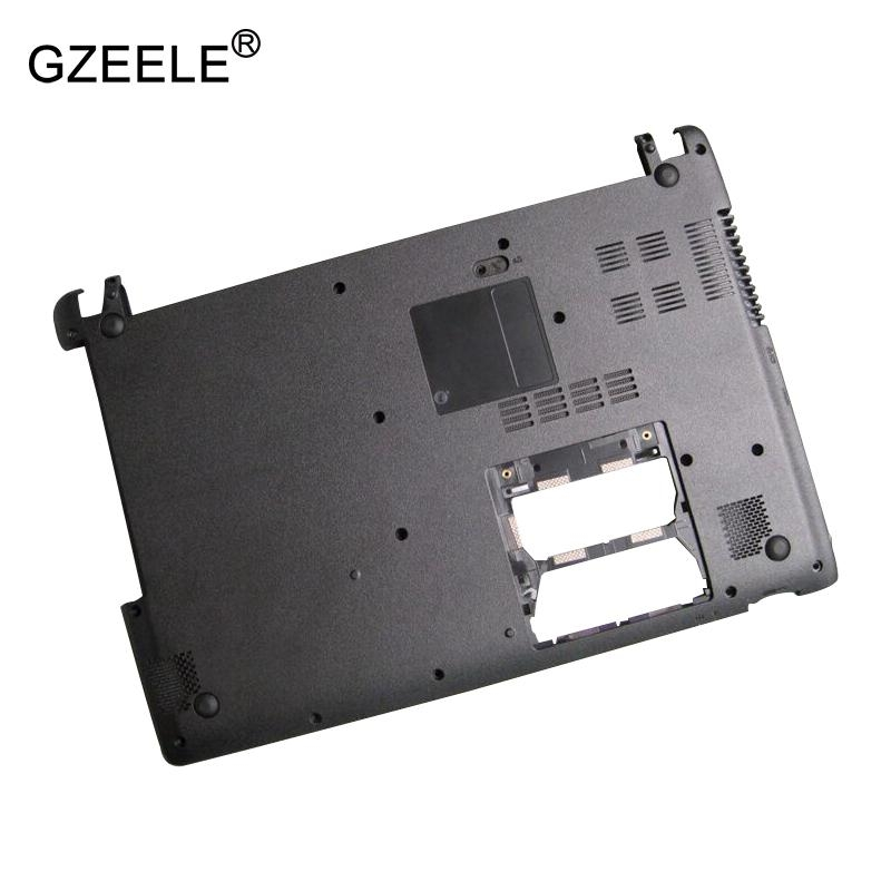 GZEELE NEW laptop Bottom case Base Cover for Acer Aspire V5-431 V5-431G V5-471 V5-471G  With touch black D case new original orange for lenovo u330 u330p u330t touch bottom lower case base cover lz5 grey 90203121