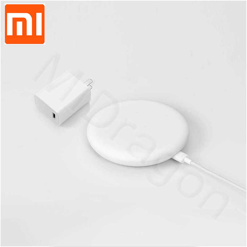 27W Plug Original Xiaomi Wireless Charger 20W Max 15V Apply to Xiaomi Mi9 MiX 2S Mix 3 Qi EPP10W For iPhone XS XR XS MAX