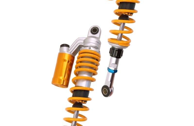 370mm 1 Pair 350mm 360mm 370mm Universal Shock Absorbers Back for Yamaha Kawasaki Dirt bikes kart ATV Bikes and Quad yellow