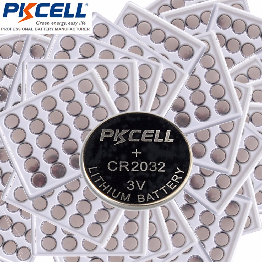 1000Pcs lot CR2032 DL2032 KCR2032 5004LC ECR2032 3V Lithium Button Coin Cell Battery Batteries for Watches