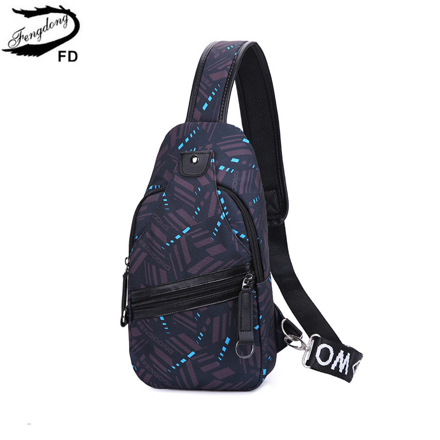 FengDong men messenger bags small one shoulder bag women mini waterproof  sling chest bag man back pack travel bagpack boy gift -in Crossbody Bags  from ... 924be0b34c