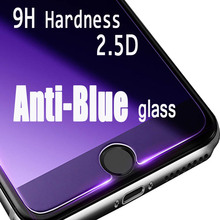 2.5D 9H Hardness HD Anti-blue Light Tempered Glass Fit For iPhone 6 6s 7 8 Protector plus