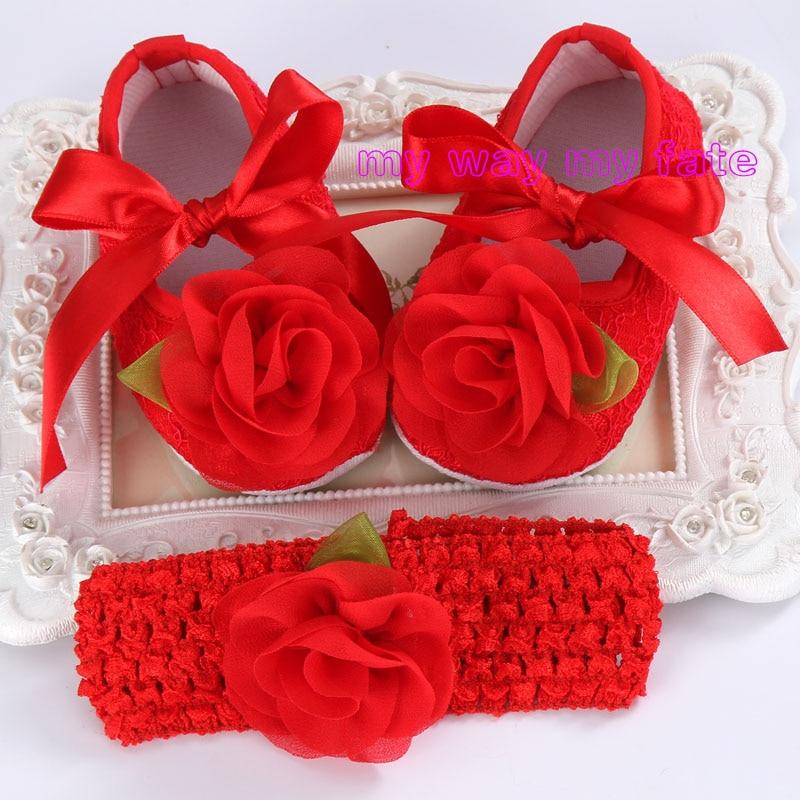 Μωσαϊκά μωρών μπουκαλιών, μάρκα πρώτου μπότες μάρκας μωρών κοριτσιών σετ κεφαλής, νεογέννητα κορίτσια μωρών παπούτσια βαφτίσεις με μαργαριτάρι μπούστο