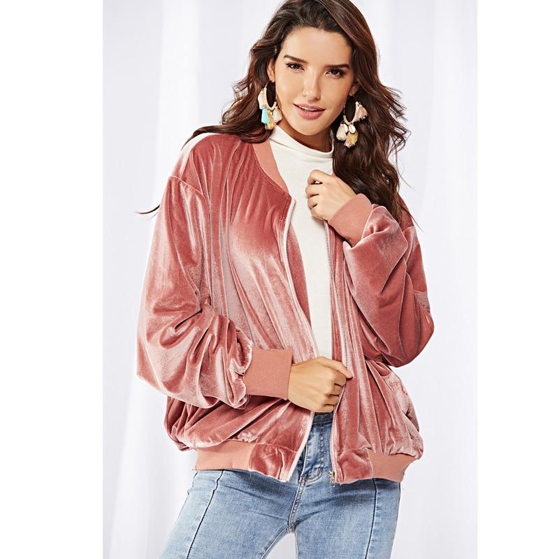 2018 Autumn Winter Warm Women Thick Velvet Hoodie Sweatshirt Fleece Loose Pocket   Basic     Jacket   Fashion Casual Flannel Zipper Coat
