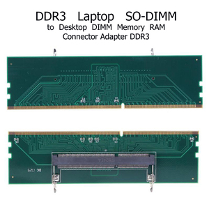 Image 4 - DDR3 Laptop SO DIMM to Desktop Adapter DIMM Memory  Converter Adapter Card