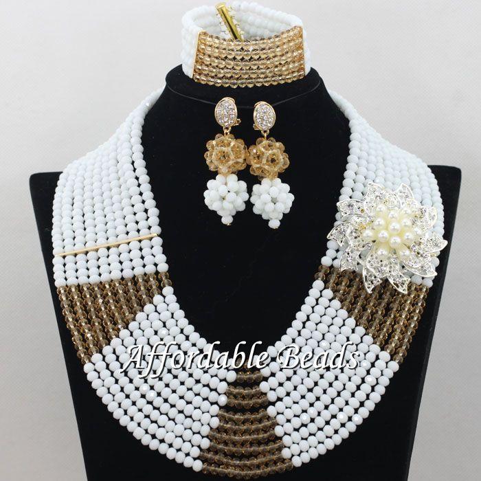 Popular African Wedding Beads Jewelry Set Rare Dubai Gold Jewelry Set Handmade Design Wholesale Free Shipping ABE129Popular African Wedding Beads Jewelry Set Rare Dubai Gold Jewelry Set Handmade Design Wholesale Free Shipping ABE129