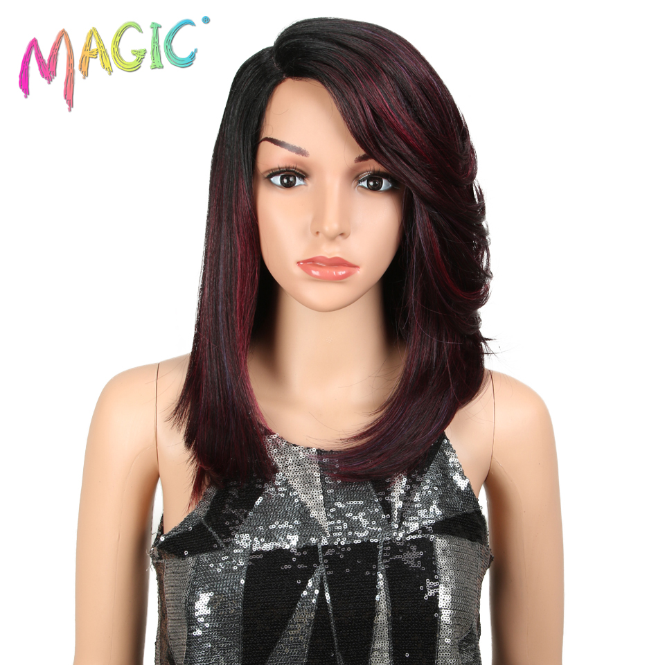 Magic Hair Synthetic Lace Wigs For Black Women 16