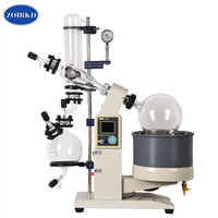 New 5L Lab Rotary Evaporator Glass Motor Lift Rotary Evaporation Apparatus With Digital Water & Oil Heat Bath