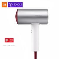 Xiaomi Mijia Soocas H3 Anion Hair Dryer Aluminum Alloy Body 1800W Air Outlet Anti Hot Innovative Diversion Design