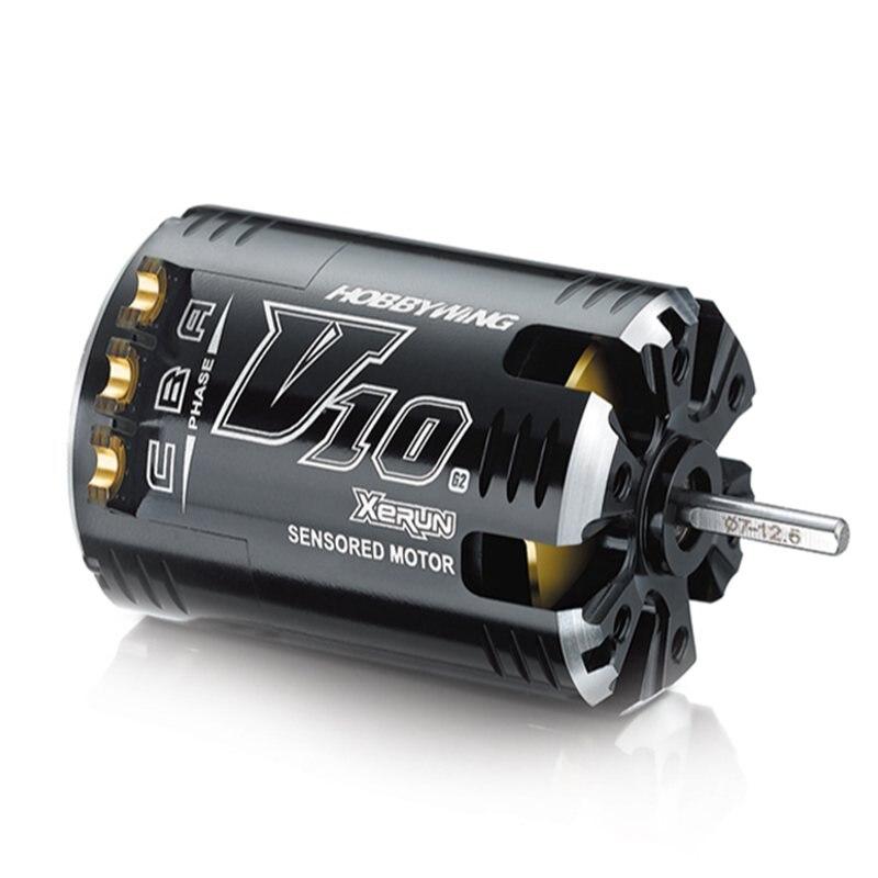 HobbyWing XeRun V10 G2 brushless sensored motor 3652 for RC 1/10 1/12 cars цена