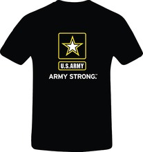 RetroGame Army Strong, Best Quality Custom Tshirt  Free shipping newest Fashion Classic Funny Unique gift