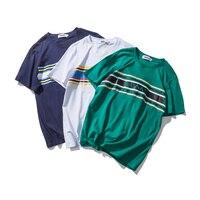 Harajuku Japanese T Shirt Men Heat Transfer Printing Short Sleeve T Shirts Men Elseisle Brand Clothing