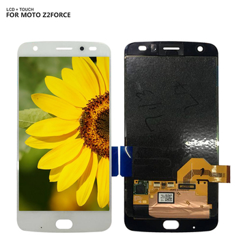 LCD Display For Motorola MOTO Z2 Force XT1789 LCD Display Digitizer Touch Screen Assembly + Free Tools