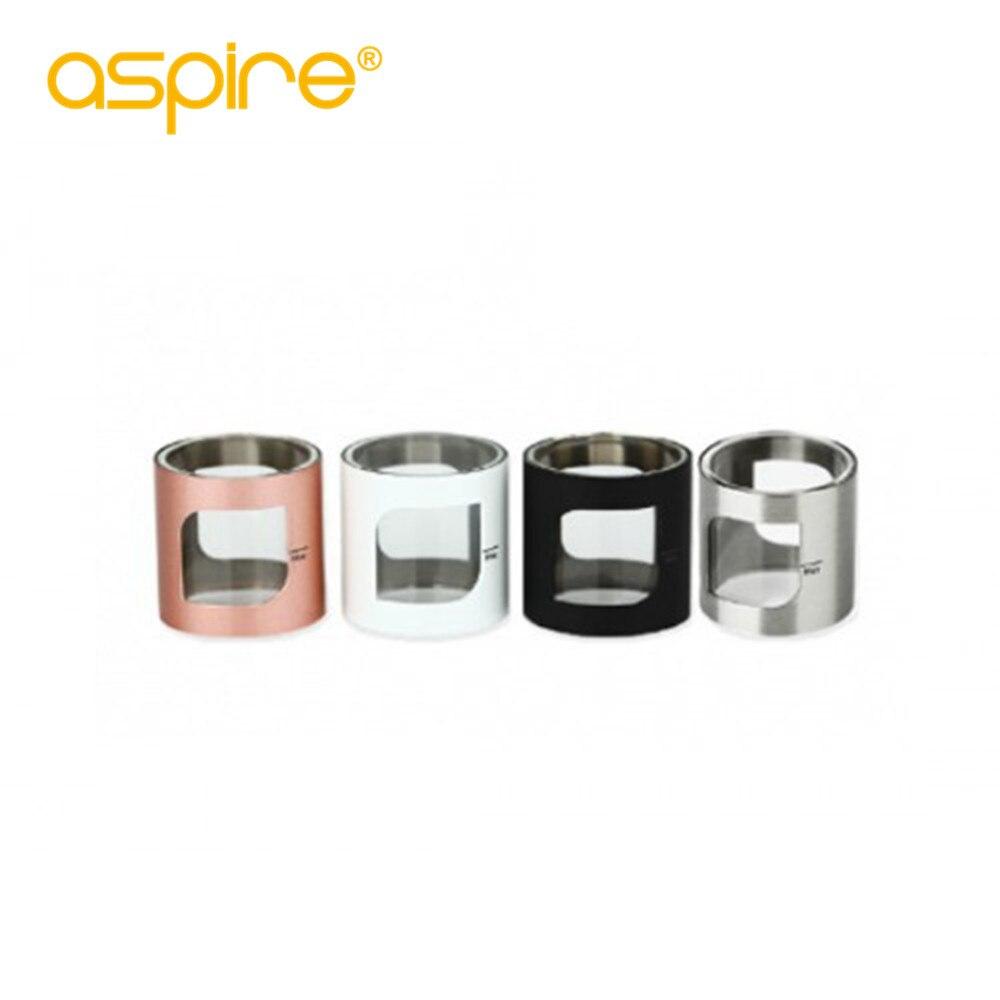 Aspire Pocke X Remplacement Verre pyrex tube pour pocketx AIO KIT Ecigarette accessoire avec couvercle en métal