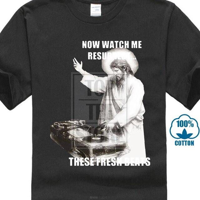 Dj Jesus T Shirt Decks Vinyl Music Birthday Present Gift In T Shirts
