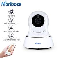 Marlboze 720 P HD Wireless Wifi Kamera IP Home Security Monitoring Kamery Onvif P2P Ir-cut P/T Night Vision CCTV Kamera wewnętrzna