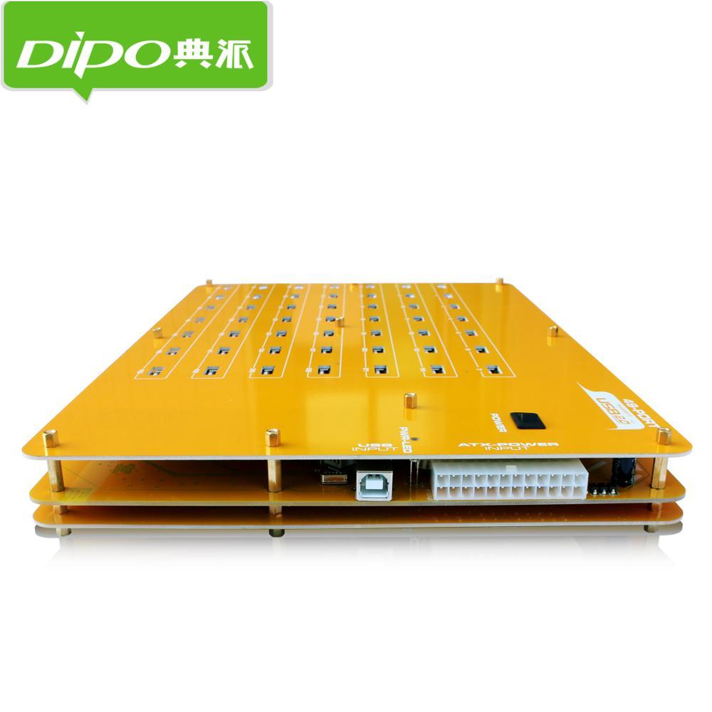 DIPO 2 4 7 10 16 19 20 49 Port USB-Hub USB 2.0 Hub-Ports für - Computer-Peripheriegeräte - Foto 4