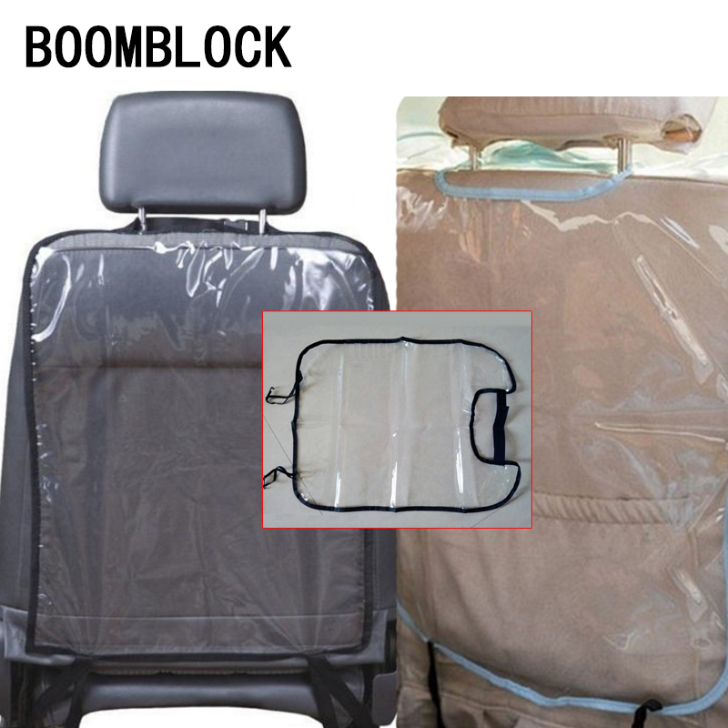 Car Styling Seat Back Children Anti Kick Mat Cover For