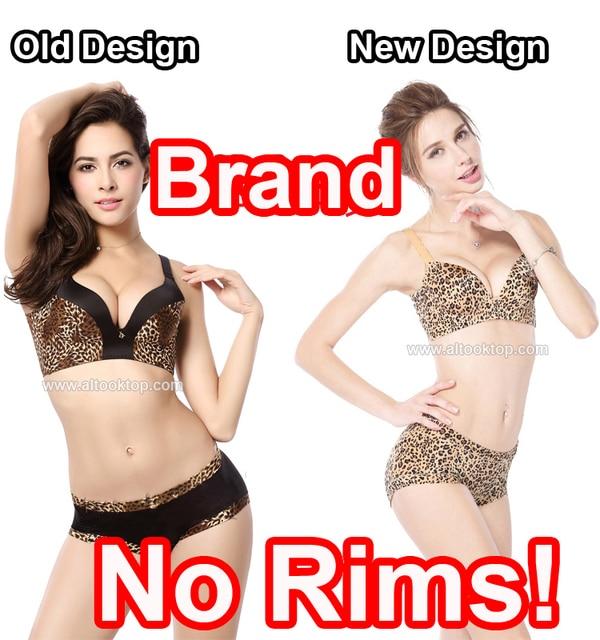 Leopard bralette bra for teens teenage girls small bra traceless super push  up women bra set