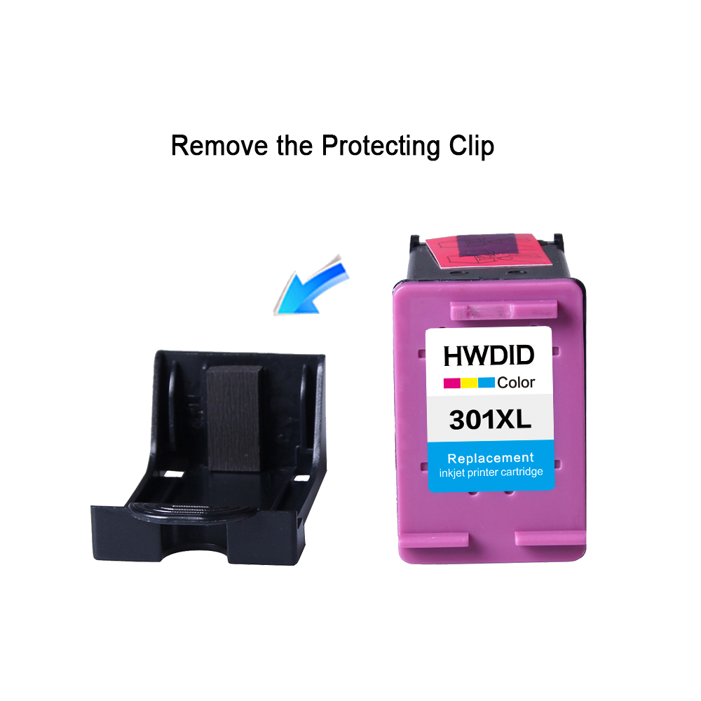 HWDID 301XL Refill Ink Cartridge Replacement for hp HP 301 for hp HP301 for Deskjet 1000 1050 2000 2050 2510 3000 3054 printer in Ink Cartridges from Computer Office