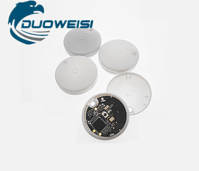 NRF51822 Bluetooth module ibeacon base station positioning Beacon near field positioning battery with shell CE  certification