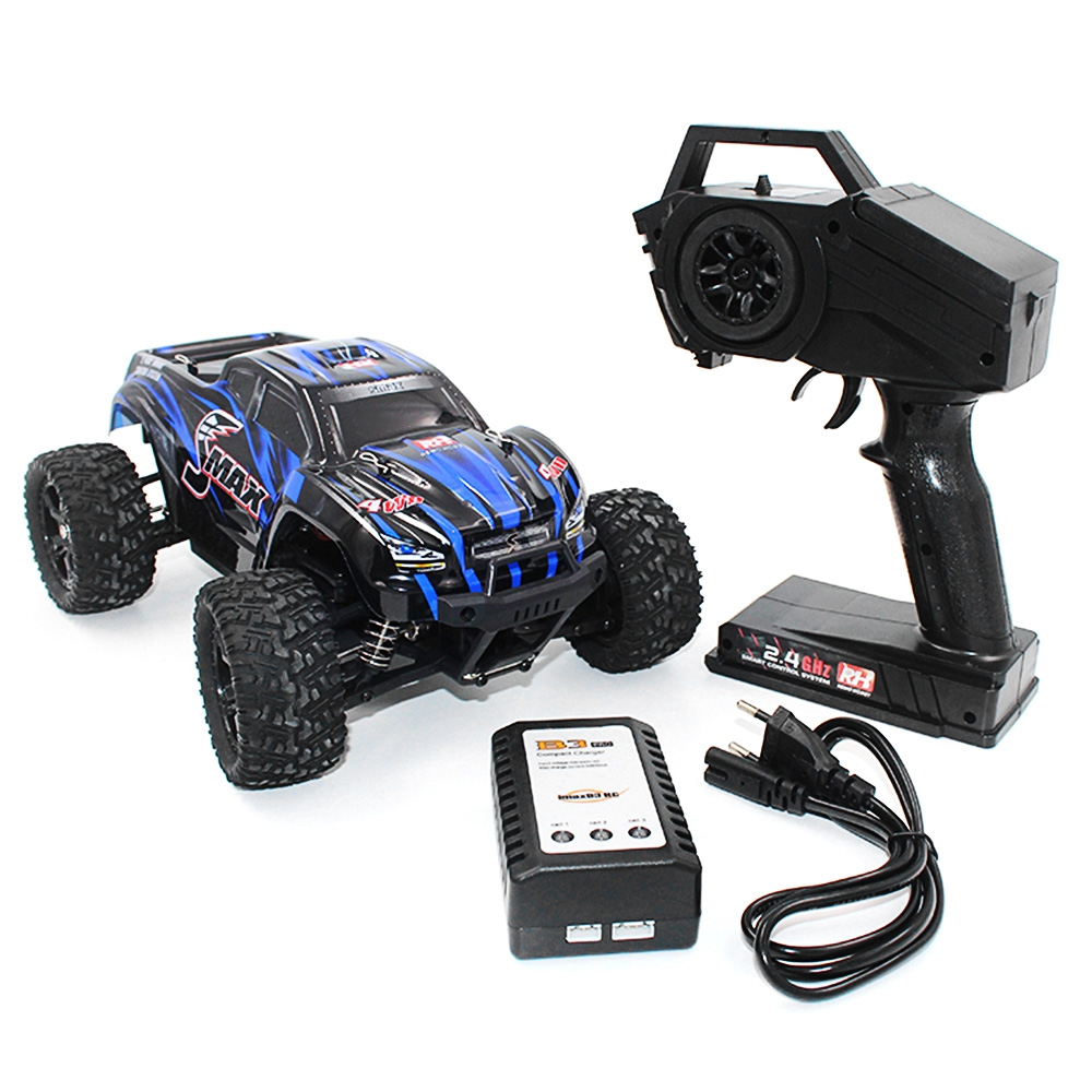 все цены на REMO RC Car 1631 1/16 2.4G 4WD Brushed Off-Road Monster Truck SMAX Remote Control Toys With Transmitter RTR онлайн