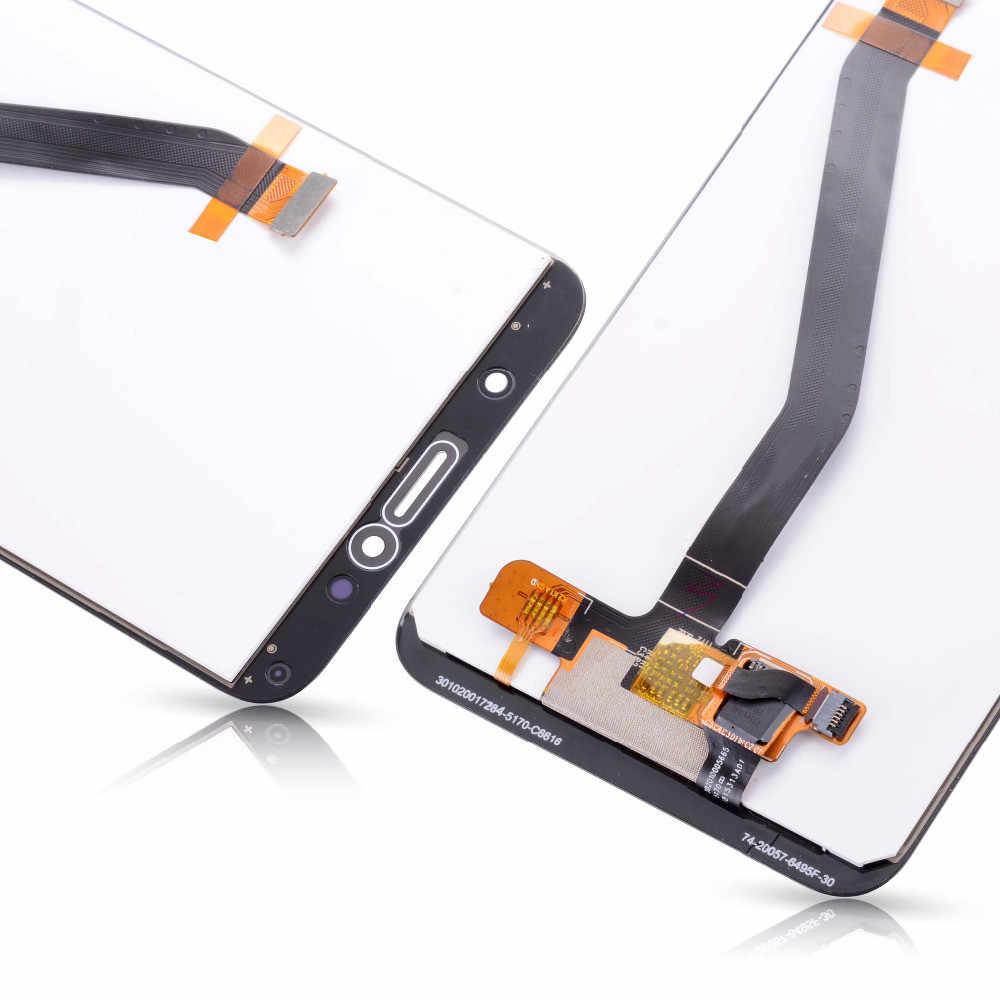 شاشة LCD فائقة الجودة لهاتف هواوي Y6 Prime 2018 Y6 2018 ATU L11 L21 L22 LX1 LX3 L31 L42 شاشة LCD تعمل باللمس مع مجموعة رقمية