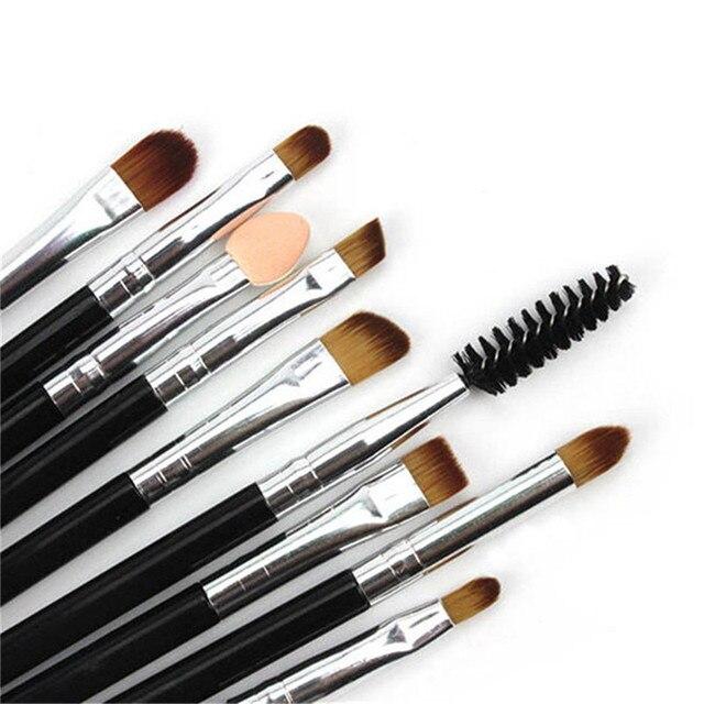 9Pcs Cosmetic Makeup Brushes Set Bulsh Powder Foundation Eyeshadow Eyeliner Lip Make up Brush Beauty Tools Maquiagem Kit