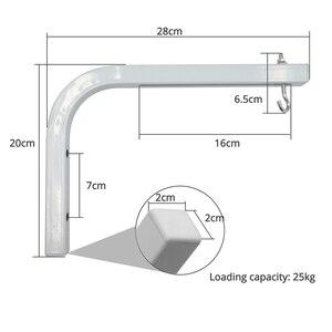 Image 3 - ThundeaL Einstellbare Projektion Bildschirm Aufhänger Decke Halterungen für Projektor Bildschirme L Form Halter Spezialisiert Aufhänger 90 grad