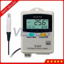 Discount! S100-EX+ External Sensor LCD display Temperature Humidity Data Logger