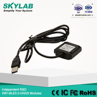 SKYLAB External Antenna Mini USB GPS Receiver SKM55 Waterproof GMOUSE GPS Navigation Support Google Earth GPS