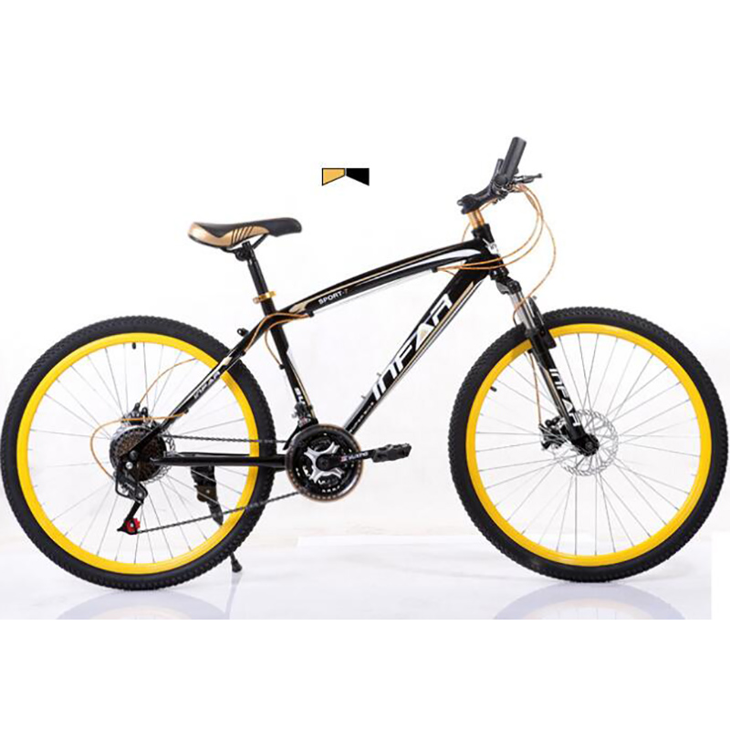 Aluminum Alloy  26 Inches 21 Speed Mountain Bike Double Disc Brake Frame Men And Women Students Bicycle