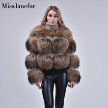 אמיתי פרווה מעיל נשים החורף חם פרווה parka שיק חדש אמיתי דביבון פרווה מעיל