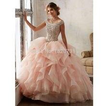 Бальное Платье синее пышное платье роскошное расшитое бисером и блестками дебютантное платье 15 лет