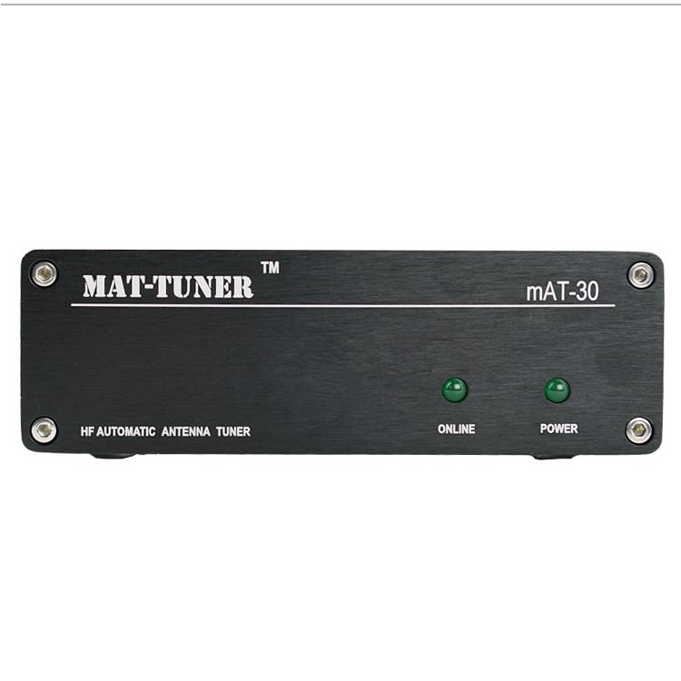 Nouveau mAT-30 120 W HF automatique Auto-tuner TUNER automatique antenne tuner automatique pour Yeasu Ham Radio